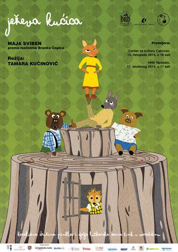 Kazališna družina PINKLEC i Dječja i lutkarska scena HNK u Varaždinu